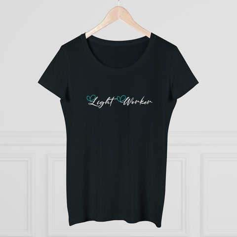 Organic Cotton Women's Tee - Light Worker