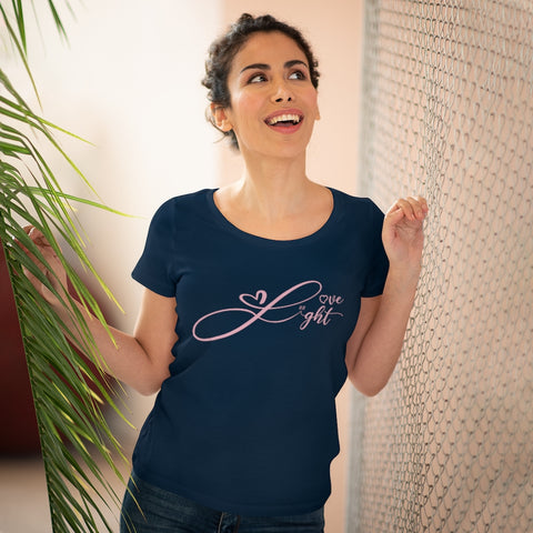 Organic Cotton Love and Light 11:11 Women's Tee