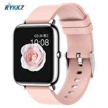 P2 2020 Smart Watch Waterproof Fitness Sport Watch Heart Rate Tracker Call/Message Reminder Bluetooth Smartwatch For Android iOS