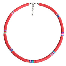 2020 Multi Layer Choker Silicone Ceramic Necklace Boho Bohemian Rubber Necklace Beach Ethnic Girl DIY Handmade Jewelry  ожерелье