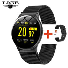 LIGE Women Men Multifunctional Waterproof Smartwatch+Box