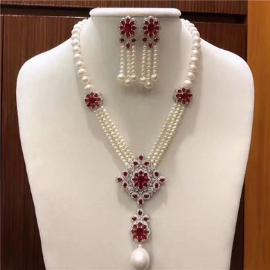 African 2pcs Bridal Jewelry Sets