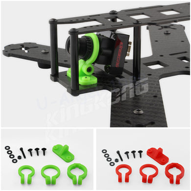1set Universal kingkong FPV Mini Camera Lens Mount Adjustable Holder For RC Quadcopter Rc Racing Drone