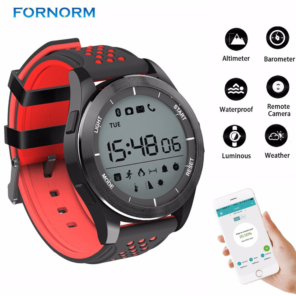 Bluetooth Smart Bracelet Sport Watch support Altimeter/Pedometer/Sleep Monitor/Calorie Consumption Waterproof for Android iOS