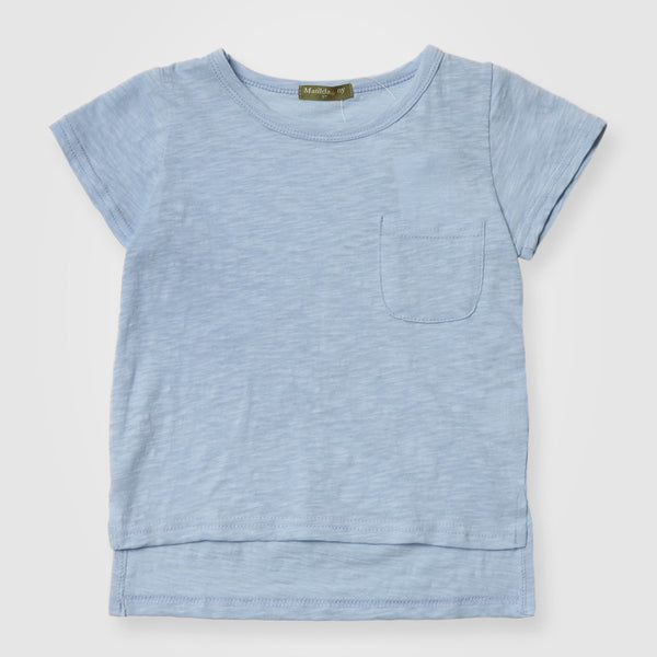 Baby Blue Cotton T