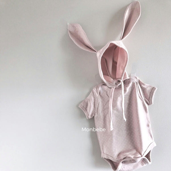 Pink Bunny Summersuit