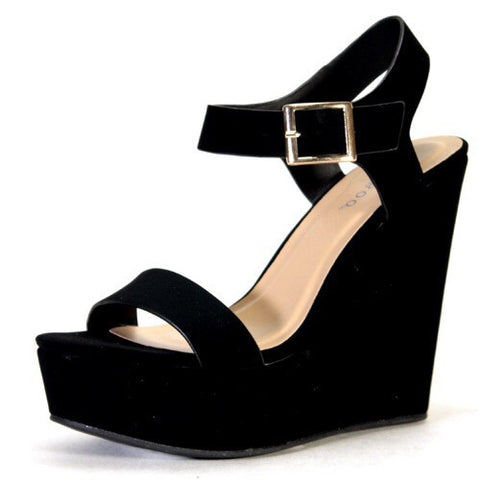 Dream Ankle Strap Wedge