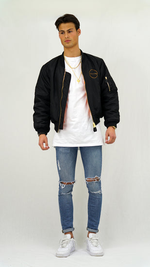 Vanity Bomber Jacket Black