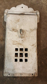 Antique Aluminum Letter Box (Lot of 9)