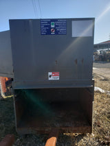 Cram-A-Lot CP-4W-F Stationary Compactor w/ 3.9 CY Enclosed Dumpster