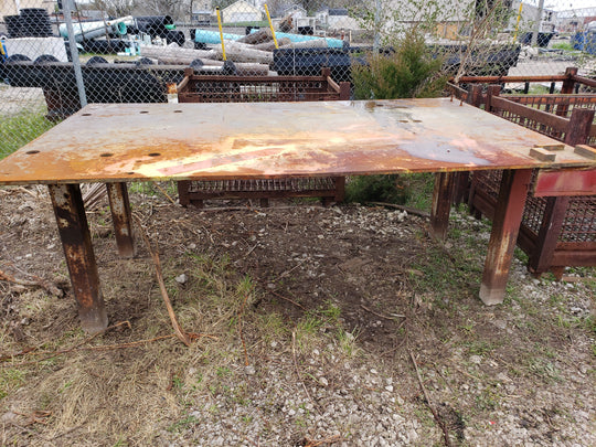 5' x 8' Welding / Fabrication Table