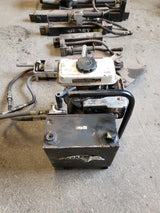HURST Jaws of Life - Honda engine + Cutter + Spreader + 3 Rams