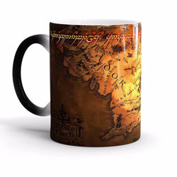 The Lord of The Rings Middle Earth Magic Coffee Mug, [products_type, D. P. P. Discipline Perseverance Patience  - K3 Imports