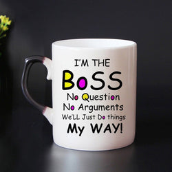 I'm The Boss Color Changing Coffee and Tea, [products_type, D. P. P. Discipline Perseverance Patience  - K3 Imports