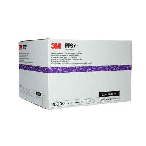 3M - 26000 PPS Standard Size Kit with 200 Micron Filters -