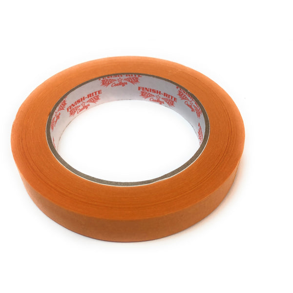 "Finish-Rite Automotive Refinish Orange Masking Tape, 3/4"" 60 yds/each - Jerzyautopaint.com"
