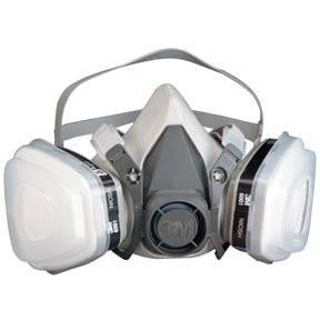 3M 07193 Dual Cartridge Respirator Assembly , Organic Vapor/P95, Large -