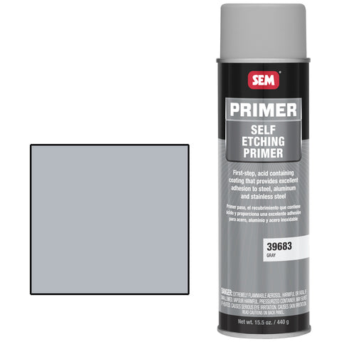 SEM-39683 SELF ETCHING PRIMER GRAY -