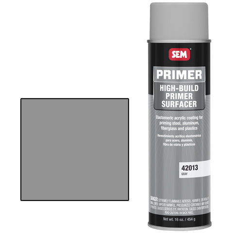 SEM-42013 HIGH BUILD PRIMER SURFACER GRAY -