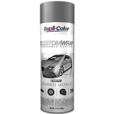 DupliColor CWRC100 Custom Wrap Removable Coating - 11 OZ - Jerzyautopaint.com