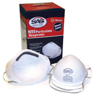 Sas Safety N95 Particle Respirator - 20/Box 8610