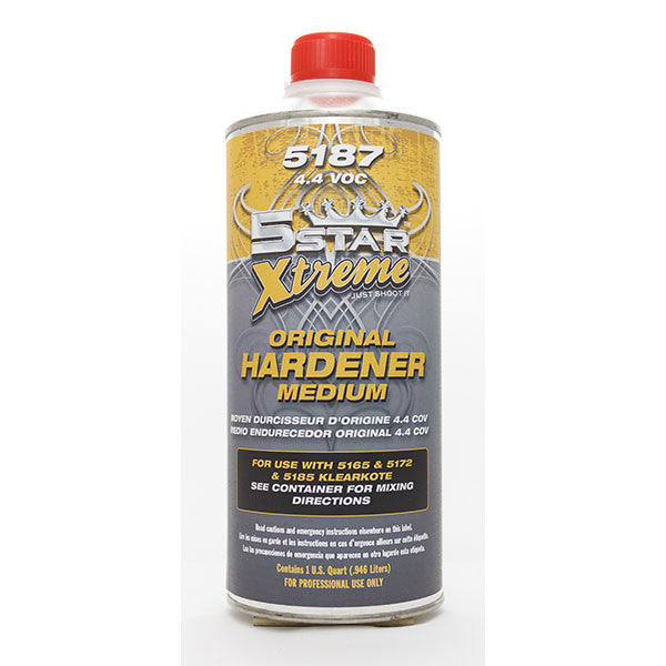 FIVE STAR 5187 Original Hardener 4.4 VOC Medium - QT - Jerzyautopaint.com