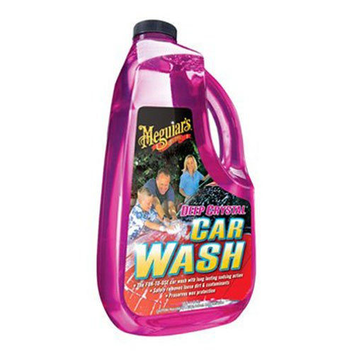 Meguiar's G10464 Deep Crystal Car Wash - 64 OZ - Jerzyautopaint.com
