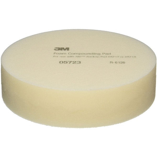 "3M 05723 - 8"" Foam Compounding Pad, Pack of 2 Pads - Jerzyautopaint.com"