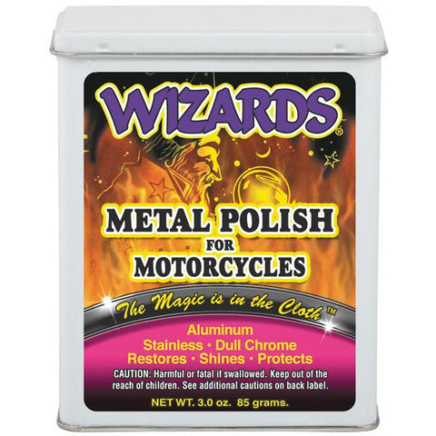 Wizards Metal Polish for Motorcycles, 22011 -