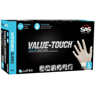 Value-Touch Latex Disposable Powdered Glove -