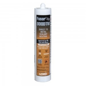 Lord Fusor 800DTM Direct-to-Metal Adhesive/Sealant - Jerzyautopaint.com