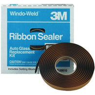 "3M 08612 Window-Weld 3/8"" x 15' Round Ribbon Sealer Kit - Jerzyautopaint.com"