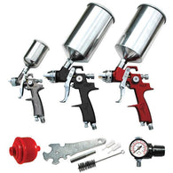 ATD-6900 9 Pc. HVLP Spray Gun Set - Jerzyautopaint.com