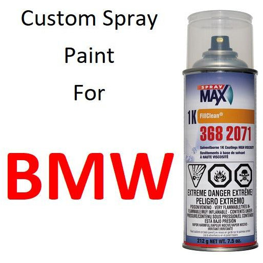 Custom Automotive Touch Up Spray Paint For BMW -
