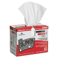 "Brawny Industrial Medium Duty Shop Towels, 9.1"" x 12.5"", 140/Box, 25003 - Jerzyautopaint.com"