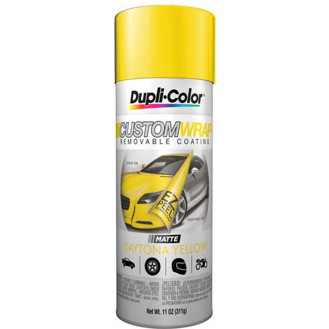 DUPLICOLOR Daytona Yellow Custom Wrap Removable Coating (11 oz) -