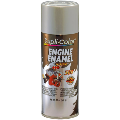 Dupli-Color DE1650 Ceramic Cast Coat Aluminum Engine Paint - 12 oz. -