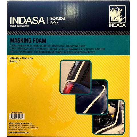 INDASA MASKING FOAM TAPE 3/4 IN X 38 YDS -