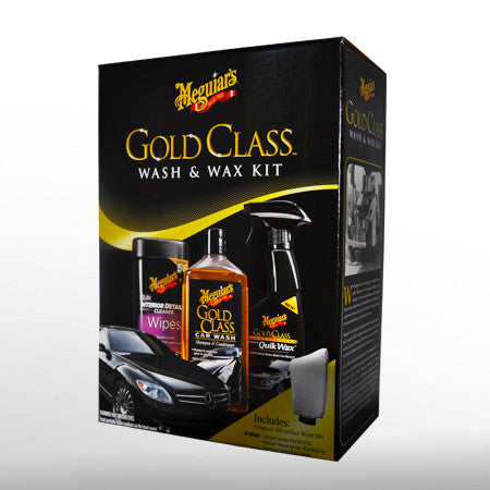 Meguiars G55114 Gold Class Wash And Wax Kit - Jerzyautopaint.com