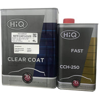 HiQ Master Clear Plus Quick, High Solid Urethane Clear Coat w/ Fast Hardener 2:1 -