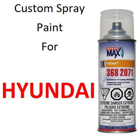Custom Automotive Touch Up Spray Paint For HYUNDAI -