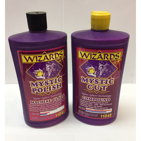 WIZARDS glaze and compound kit -