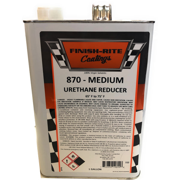 Finish-Rite Coatings Medium Universal Reducer - 1 Gallon - Jerzyautopaint.com