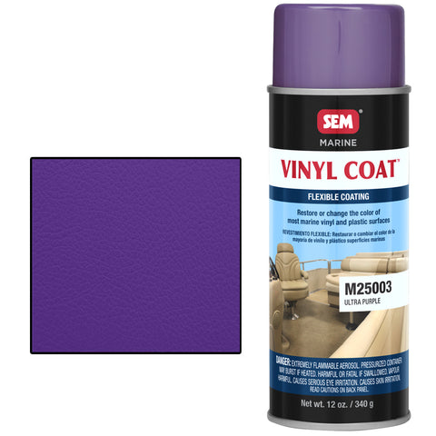 SEM-M25003 VINYL COAT™ ULTRA PURPLE -
