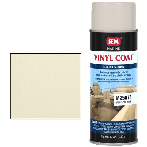 SEM-M25073 VINYL COAT™ RANGER OFF WHITE -