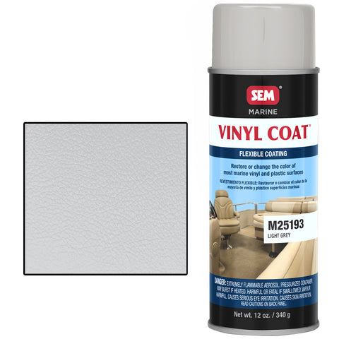 SEM-M25193  VINYL COAT LIGHT GRAY - Jerzyautopaint.com