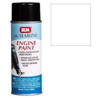SEM-M25503 EVINRUDE WHITE ENGINE PAINT -