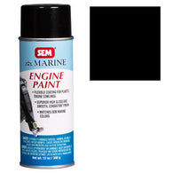 SEM-M25513 MERCURY PHANTOM BLACK ENGINE PAINT -