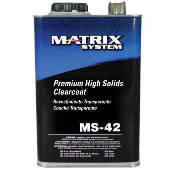 MS-42 Premium High Solid 2:1 Clearcoat (Without Hardener) -