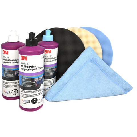 3M  Perfect It Buffing & Polishing Kit - Jerzyautopaint.com